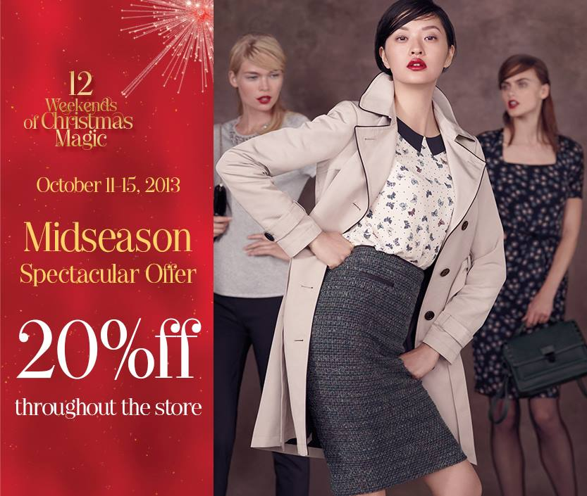 Marks & Spencer Mid-Season Spectacular October 2013