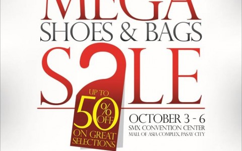 Mega Shoes & Bags Sale @ SMX Convention Center October 2013