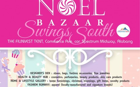 Noel Bazaar Swings South @ Filinvest Tent October 2013