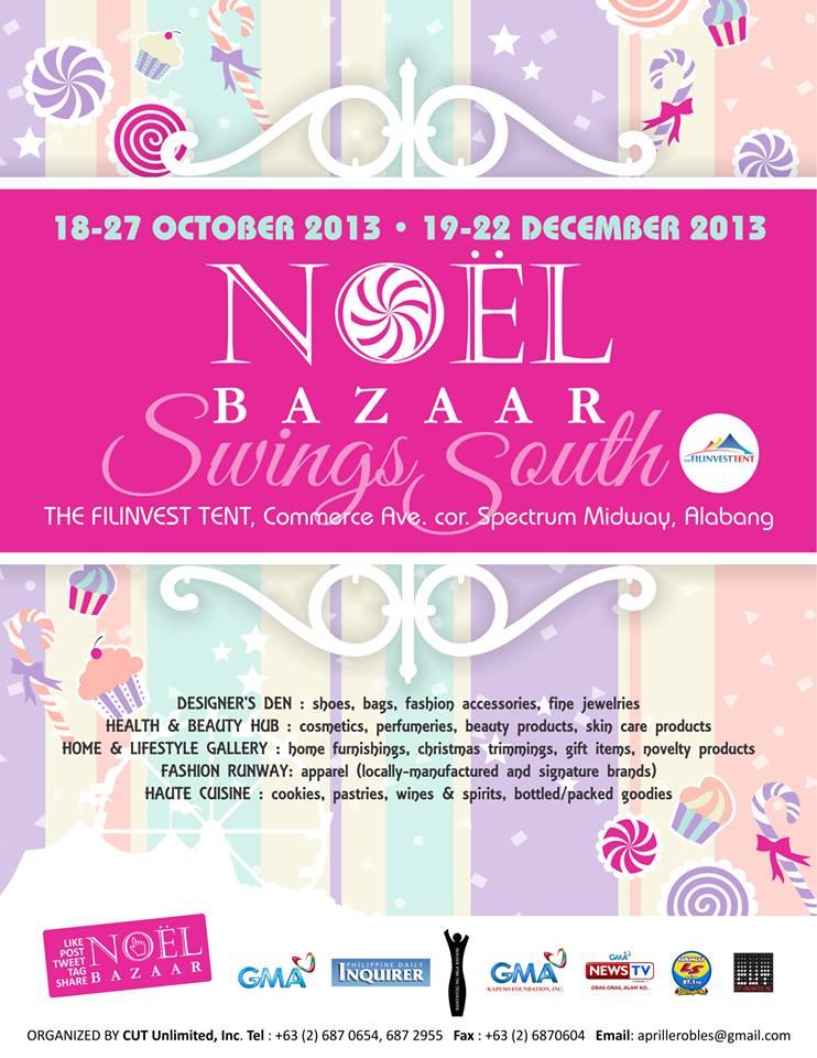 Noel Bazaar Swings South @ Filinvest Tent October 2013