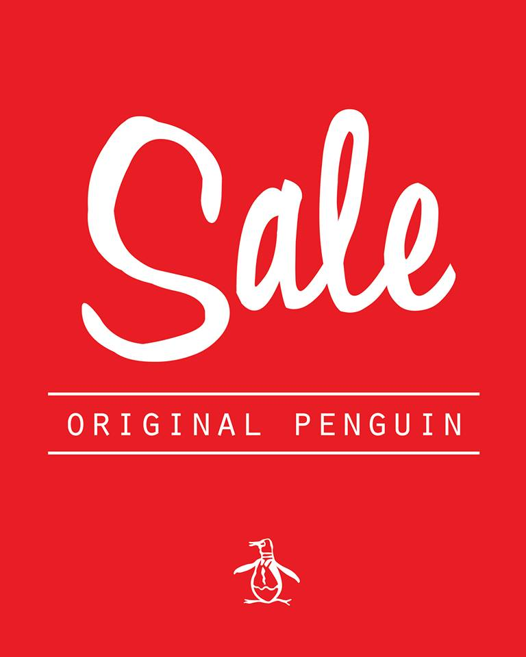 Original Penguin Pre-Holiday Sale October 2013