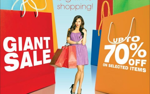 Robinsons Malls Giant Sale October 2013