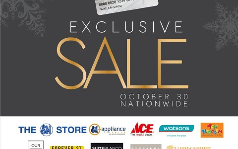 SM Prestige Exclusive Sale October 2013