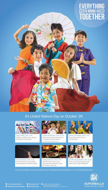 SM Supermalls United Nations Day Celebration October 2013