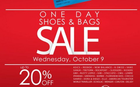 SMAC Shoes & Bags Sale October 2013