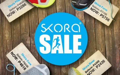 Skora Sale @ Tobys Sports & Runnr October - November 2013