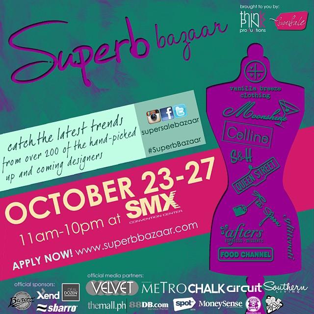 Superb Bazaar by SuperSale @ SMX Convention Center October 2013