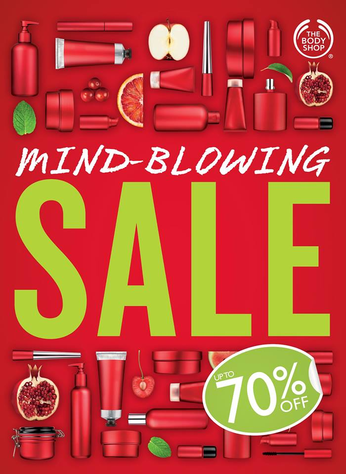 The Body Shop Pre-Holiday Sale September - November 2013
