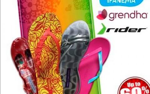 Ipanema, Grendha, & Rider Sandals Sale @ Trinoma Activity Center October 2013