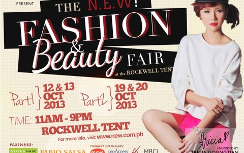 The N.E.W. Fashion & Beauty Fair @ Rockwell Tent October 2013