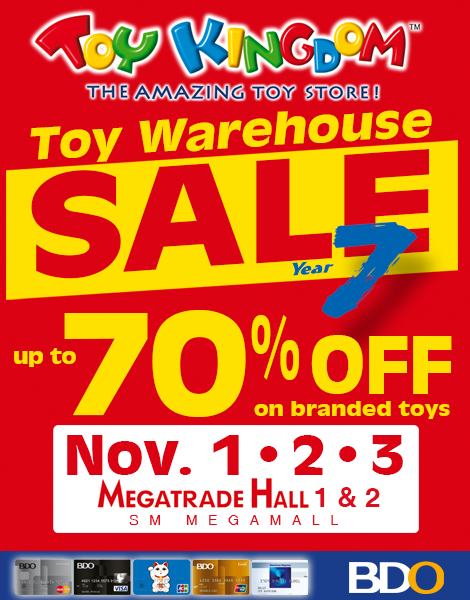 Toy Kingdom Toy Warehouse Sale @ SM Megatrade Hall November 2013