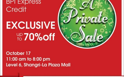 True Value A Private Sale @ Shangri-La Plaza Mall October 2013