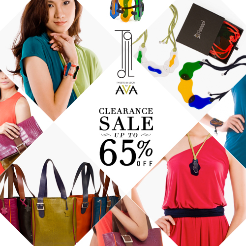 Tweetie De Leon for AVA Clearance Sale October - November 2013