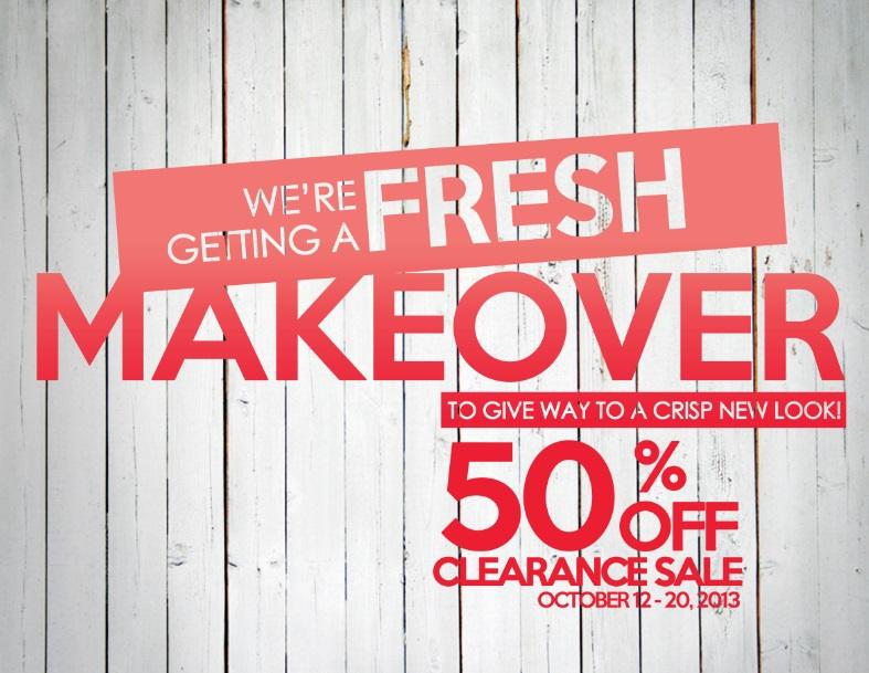 CMG Glorietta Makeover Sale October 2013