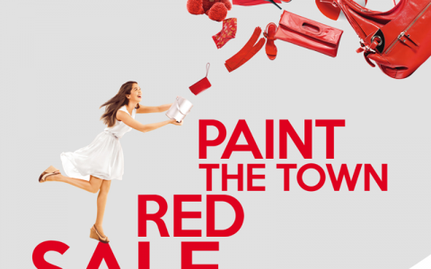 Alabang Town Center Paint The Town Red Sale November 2013