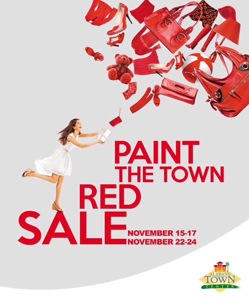 Alabang town center manila on sale part 2 alabang town center paint the town red sale november 2013 stopboris Image collections