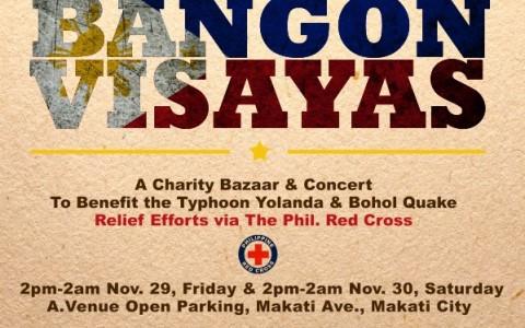Bazaar Pilipinas: Bangon Visayas @ A. Venue Open Parking November 2013