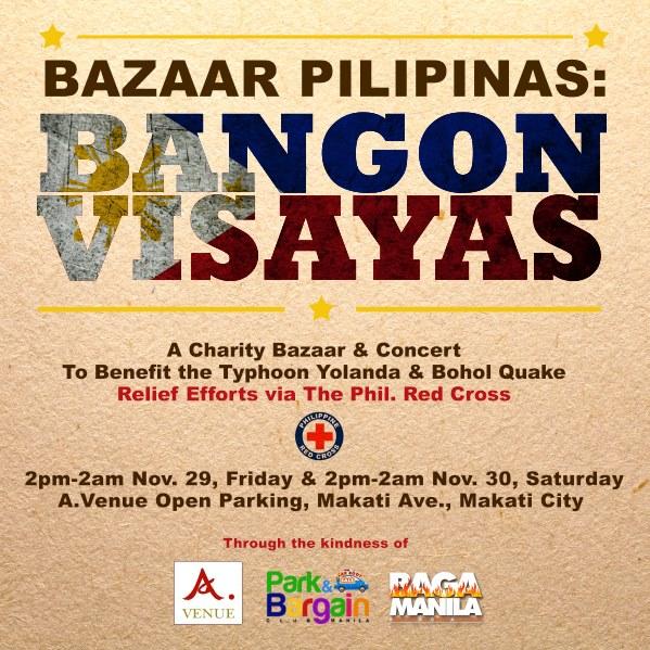 Bazaar Pilipinas: Bangon Visayas @ A. Venue Hall November 2013