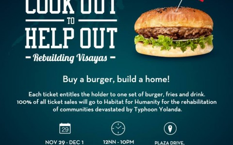 Cook Out to Help Out: Rebuilding Visayas @ Power Plant Mall November - December 2013