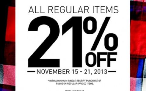 Forever 21 Menswear Sale November 2013