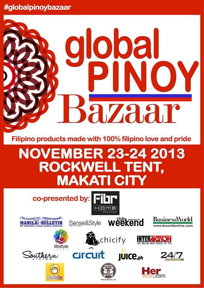 Global Pinoy Bazaar @ Rockwell Tent November 2013