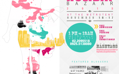 Holiday Bazaar 2013 @ Metrotent, Metrowalk November - December 2013