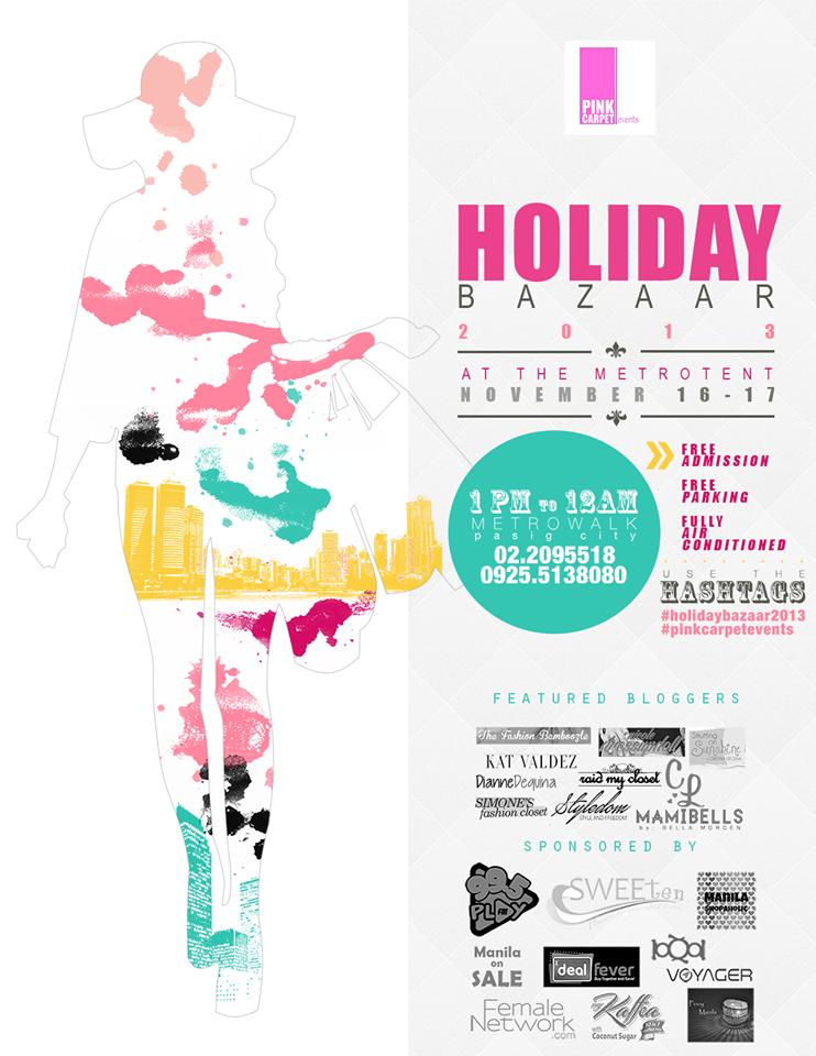 Holiday Bazaar 2013 @ Metrotent, Metrowalk November - December 2013