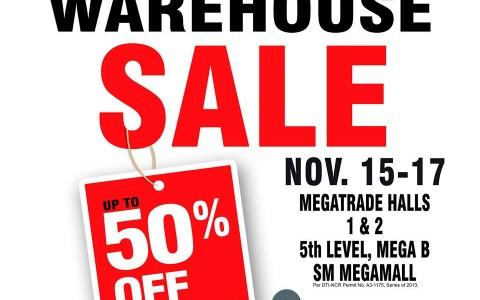 Homeworld Warehouse Sale @ SM Megatrade Hall November 2013