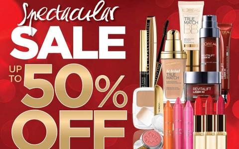 L'Oreal Spectacular Sale November - December 2013