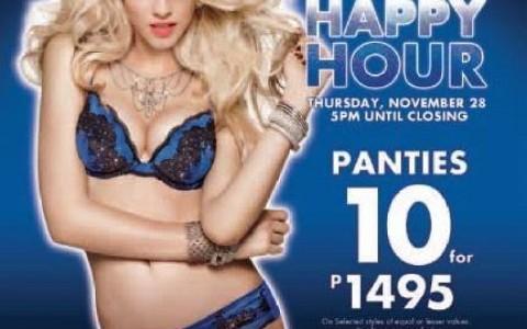 La Senza Happy Hour Sale November 2013
