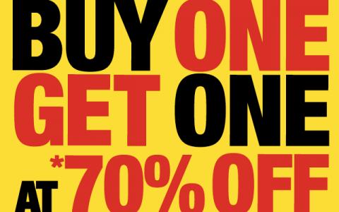 Marithe Francois Girbaud Buy 1 Get 1 at 70% off November 2013
