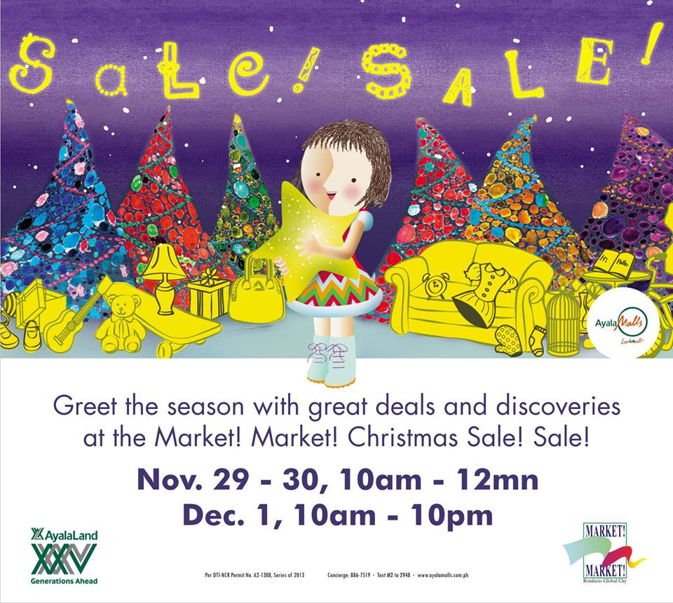 Market Market Christmas Sale! November - December 2013
