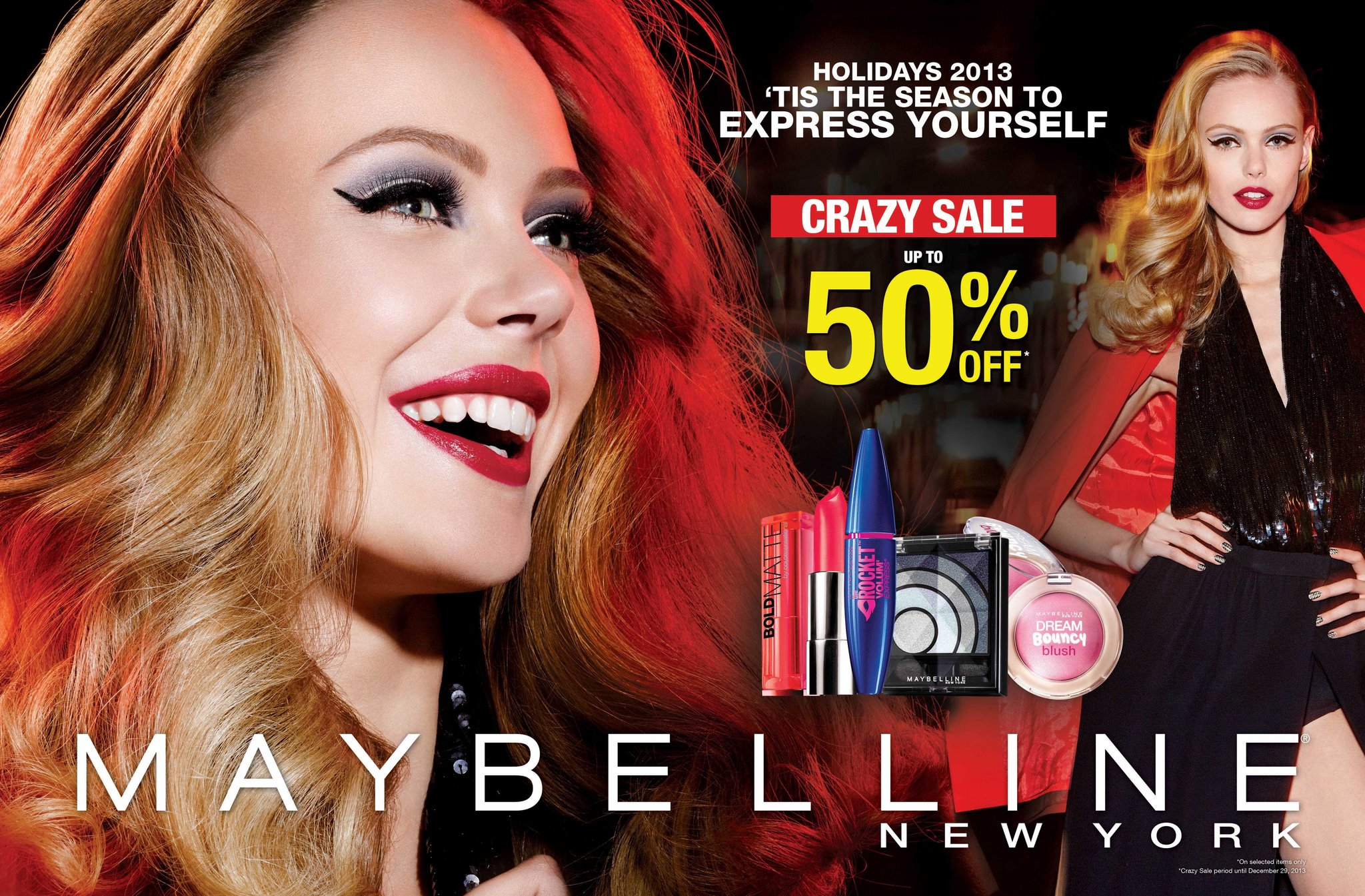 Maybelline Crazy Sale November - December 2013