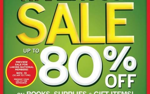 National Book Store Warehouse Sale @ NBS Quezon Avenue November 2013