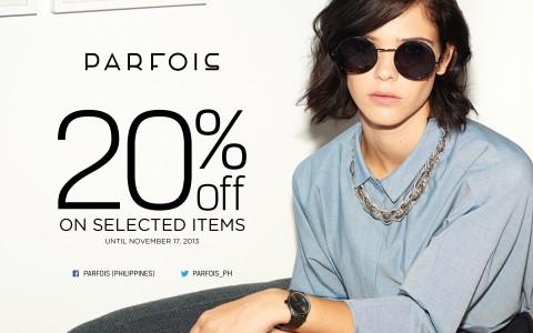 Parfois Sale November 2013