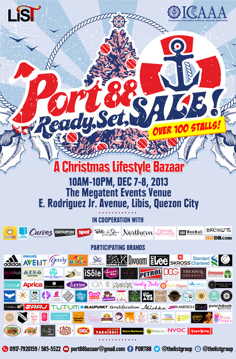 Port 88 Ready Set Sale @ Megatent Libis December 2013