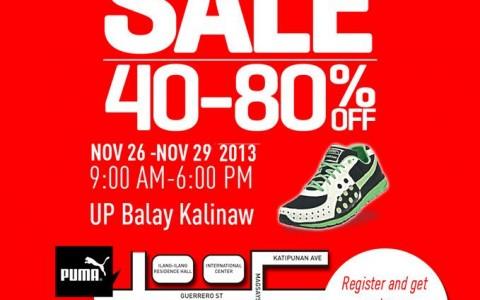 Puma Big Big Sale @ UP Balay Kalinaw November 2013