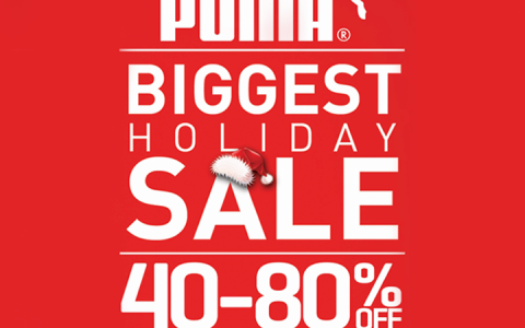 Puma Holiday Sale @ Lucky Chinatown Mall November - December 2013
