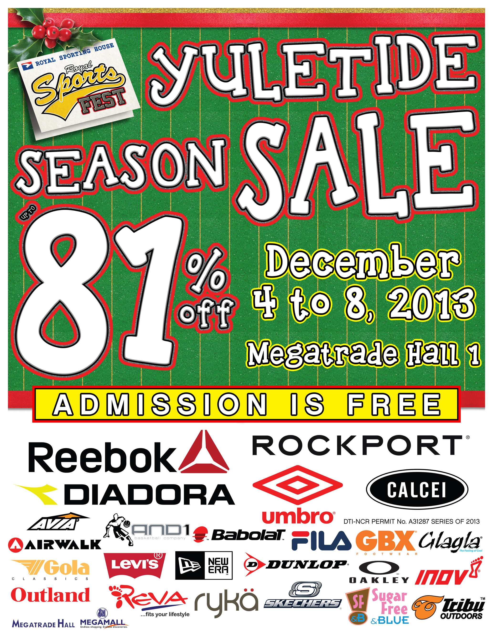 RSF Yuletide Season Sale @ SM Megatrade Hall December 2013