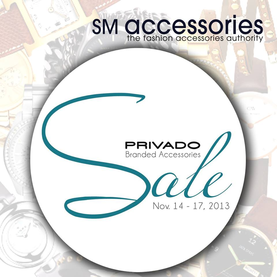SM Accessories Privado Sale November 2013