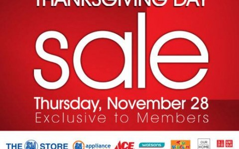 SMAC Members Only Thanksgiving Sale November 2013