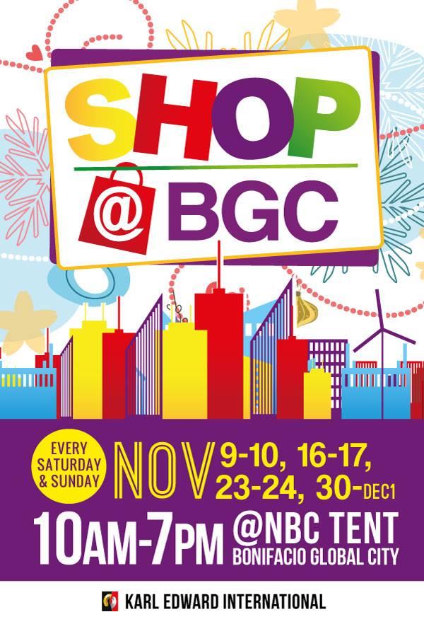 Shop @ BGC  November - December 2013