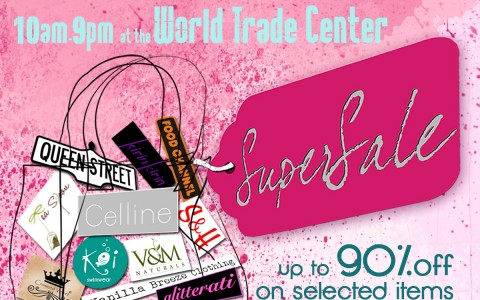 SuperSale Holiday Bazaar @ World Trade Center November - December 2013
