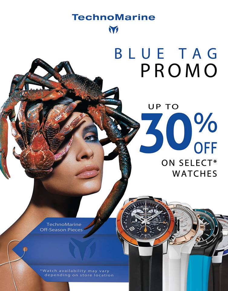 Technomarine Blue Tag Sale November 2013