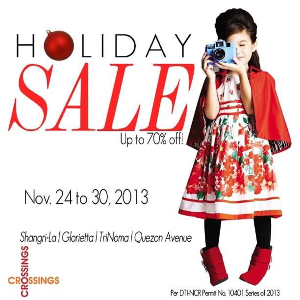 The Ramp Crossings Holiday Sale November 2013