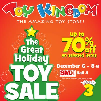 Toy Kingdom The Great Holiday Toy Sale @ SMX Convention Center December 2013