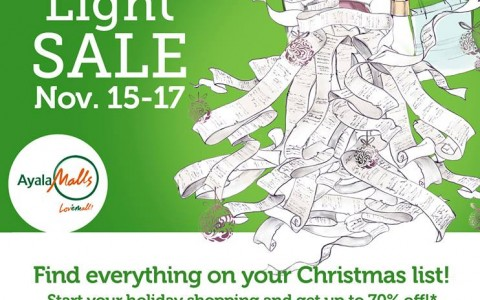 Trinoma Green Light Sale November 2013