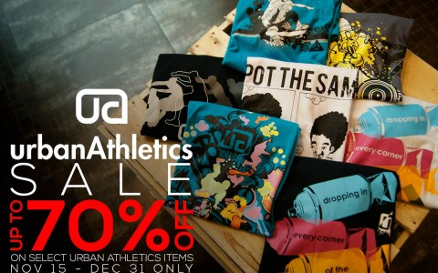 Urban Athletics Sale November - December 2013