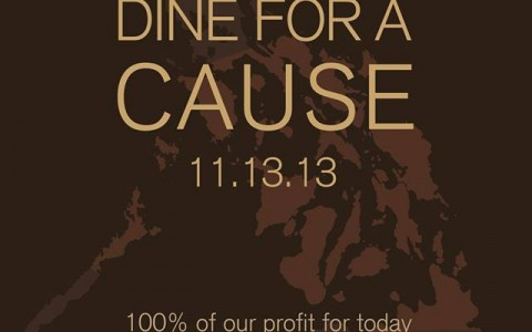 Yabu Dine For A Cause November 2013