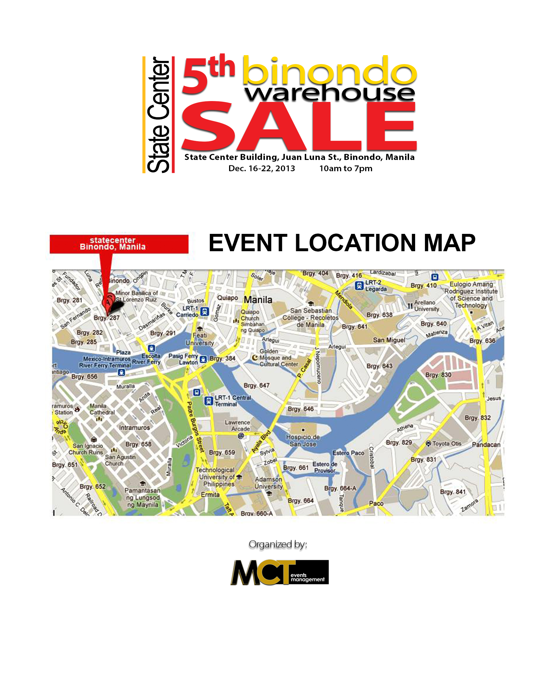 5th BWS Location Map